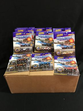 Lot 062 Johnny Lightning Dragsters Cars
