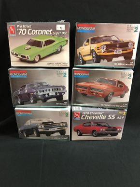 Lot 074 Lot Of Model Cars