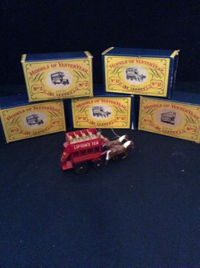 Lot 044 Lot of 5 Lesney Scale Model Cars  ITEM CAN BE PICKED UP IN ROCKVILLE CENTRE