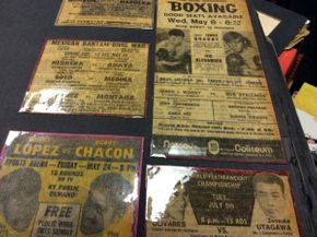 Lot 078 Boxing Scrapbook   ITEM CAN BE PICKED UP IN ROCKVILLE CENTRE