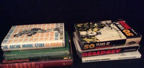 Lot 082 Lot of 6 Signed Books   ITEM CAN BE PICKED UP IN ROCKVILLE CENTRE
