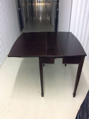 Lot 092 Bombay Company Game/Dining Table with 2 Leafs   ITEM CAN BE PICKED UP IN GLEN COVE