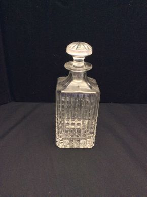Lot 060 Tiffany and Co Crystal Decanter   ITEM CAN BE PICKED UP IN GARDEN CITY