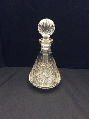 Lot 061 Waterford Crystal Decanter  ITEM CAN BE PICKED UP IN GARDEN CITY