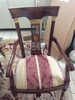 Lot 007 Lot of 10 Dining Chairs   ITEM CAN BE PICKED UP IN GREAT NECK