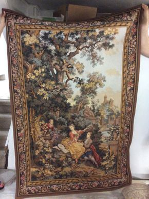 Lot 016 Machine Made Tapestry   ITEM CAN BE PICKED UP IN GREAT NECK