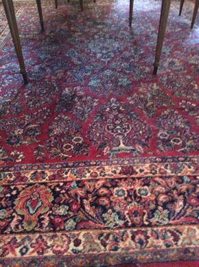 Lot 032 Karastan Rug ITEM CAN BE PICKED UP IN MINEOLA