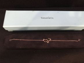 Lot 012 Tiffany Confirmation Sterling Bracelet 6.5in