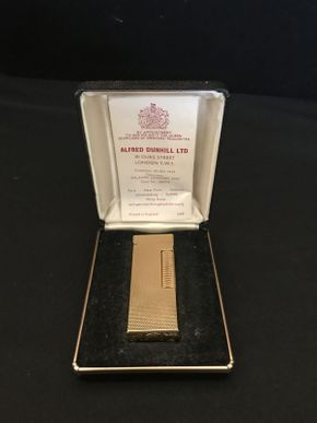 Lot 026 Dunhill Rollages Vintage Lighter