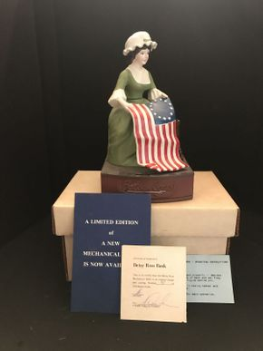 Lot 050 Betsy Ross Mechanical Bank 48/500