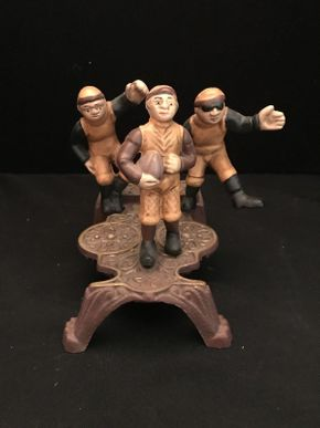 Lot 051 Football Mechanical Bank