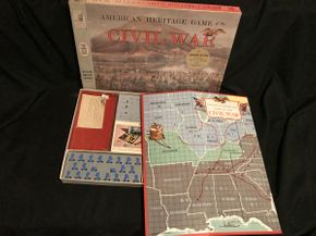 Lot 064 Milton Bradley American Heritage Game of the Civil War