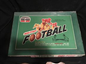 Lot 068 Vintage 1960\'s Plus Mechanical Sports Game