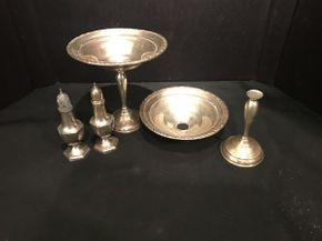 Lot 006 Lot of Sterling Items