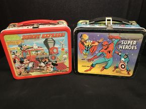 Lot 007 Lot of 2 Vintage Lunch Boxes