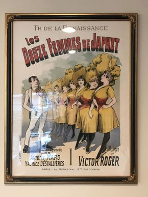 Lot 019 Contemporary  French Framed Poster 26x32