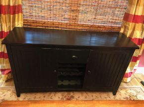 Lot 054 Buffet Table PICKUP IN DIX HILLS
