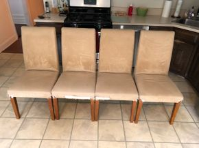 Lot 055 Lot of Four Dining Chairs PICK UP IN DIX HILLS