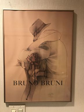 Lot 029 Bruno Bruni Lithograph Signed 18x24