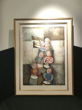 Lot 033 Framed Lithograph by Graciela Rodo Boulanger 39x30