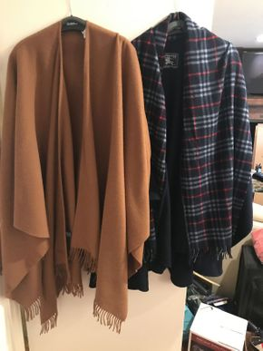 Lot 046 Lot of 2 Burberry Capes