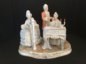 Lot 024 German Porcelain Statue 13x11 ITEMS TO BE PICKED UP IN OCEANSIDE