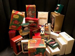 Lot 015 Lot of Assorted Hallmark Ornaments