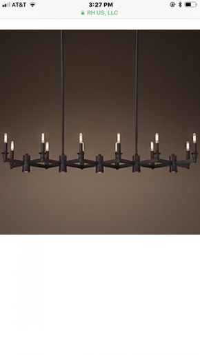 Restoration Hardware Veneto 10 Light Chandelier