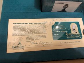 Lot 017 Lot of Jimmeny Cricket Walt Disney Collectors Society Collections