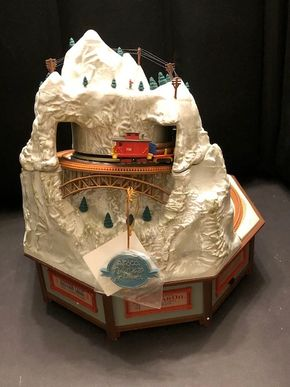 Lot 013 Enesco Rock City Deluxe Action Musical Masterpiece
