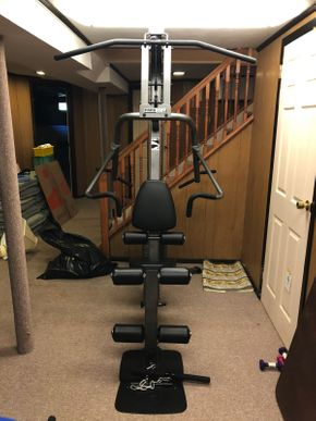 Lot 046 Peabody 6S Gym System ITEM CAN BE PICKED UP IN JERICHO