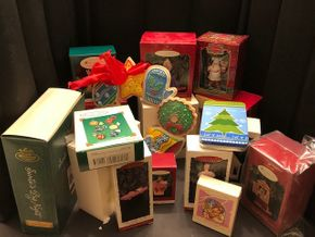 Lot 008 Lot of Assorted Hallmark Ornaments