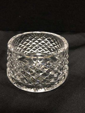 Lot 067 Waterford Crystal Sugar Bowl 2.5 Inches H. PICK UP IN FLUSHING.