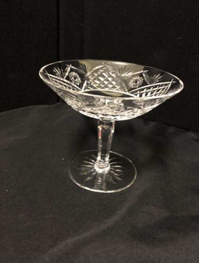 Lot 068 Waterford Crystal Candy Dish 5.5 Inches H. PICK UP IN FLUSHING.