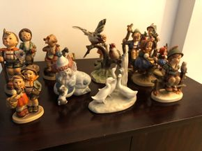 Lot 037 LOT OF 14 Figurines including Hummels, Goebel, Nao, Lladro PICK UP IN RVC