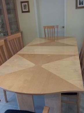 Lot 001 Italian Made  Contemporary Dining Room Table  32H x 19W x 67L PICK UP IN OCEANSIDE