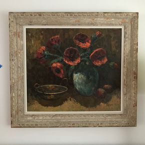 Lot 148 Signed  Henri Charon Oil On Canvas 28 x 34 PICK UP IN GARDEN CITY