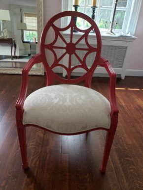 Lot 028 Pd./Pick Up at Tag Sale Ethan Allen Decorative Armchair 41H x 24W x 20.25L PICK UP IN GARDEN CITY, NY