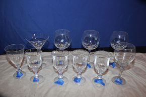 Lot 016 Lot of 10 pieces of Glassware Various Shapes/Sizes ITEMS CAN BE PICKED  UP IN WESTBURY