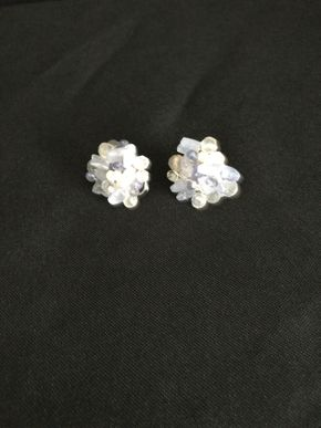 Lot 122 14K White Gold Earrings PICK UP IN GARDEN CITY