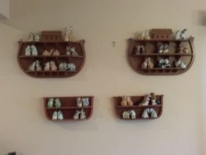 Lot 030 Large Lot Of Franklin Mint Salt and Pepper Shakers with Wooden Display Cases PICK UP IN CEDARHURST