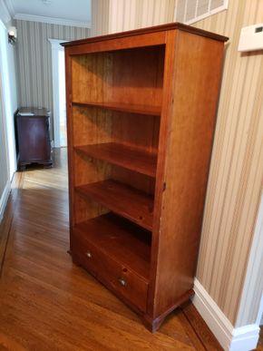 Lot 035 PU/4 Shelf Storage Bookcase w/1 Drawer 63H x 36.5W x 16D PICK UP IN GARDEN CITY, NY
