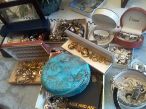 Lot 074 Lot Of Costume Jewelry PICK UP IN WEST HEMPSTEAD