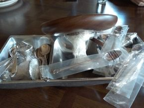 Lot 030 Lot Of Assorted Sterling Pieces Dish NOT Sterling PICK UP IN ROCKVILLE CENTRE