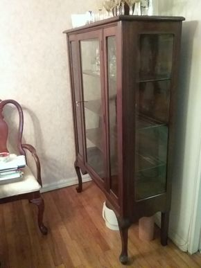 Lot 004 China Cabinet 61 x 15x 51 PICK UP IN HOWARD BEACH