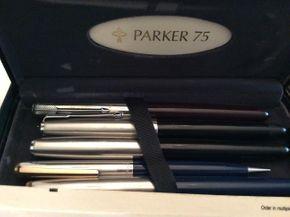Lot 084 Lot of Pens. Cross Parker PICK UP IN GARDEN CITY