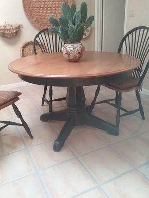 Lot 013 Round Pedestal Kitchen Table 29.5H x 49 Diameter PICK UP IN MANHASSET