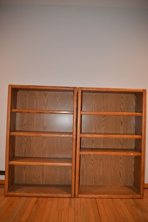 Lot 021 2 SHELVING UNITS 48H X 10W PICK UP IN PORT WASHINGTON