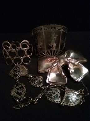 Lot 058 Lot Of Sterling Silver Pieces PICK UP IN N BABYLON