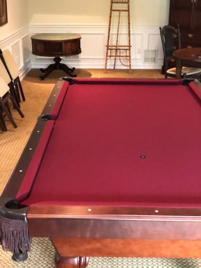 Lot 026 Pool Table w/Accessories PICK UP IN PECONIC/RIVERHEAD